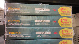 """3 Pack of 3M Filtrete Furnace Filters 16x25x1"""" 1200 Filtration"""