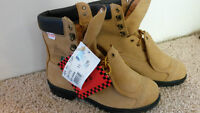 New Black Diamond Steel Toe Safety Boots Size 11