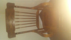 Old country rocking chair