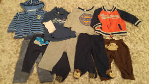Boy mixed lot tops and pants 6 months