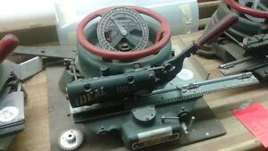 Ideal Model No. 3 Stencil Cutting Machine Press Punch