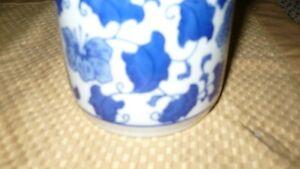 VINTAGE MID CENTURY DELFT BLUE JAR & LID BEAUTIFUL Kitchener / Waterloo Kitchener Area image 2