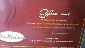 2 x Tim Horton's Tea Cup and Saucer Set West Island Greater Montréal image 2
