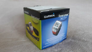 Garmin Forerunner 305 GPS trainer watch with heart rate monitor