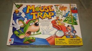 Old School Mouse Trap Board Game - Excellent Condition