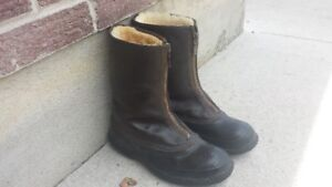 Vintage Royal Canadian Air Force flight boots