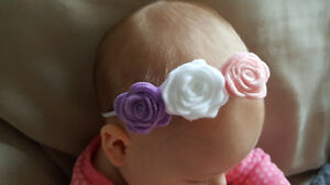 Handmade Felt Flower Headbands