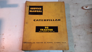 Assorted caterpiller manuals