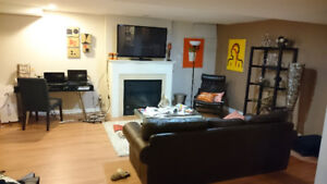 LOCATION! 1 Bedroom + Den Basement Rental.