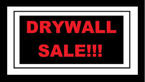 Drywall sale, best price in GTA! Carry and delivery available!