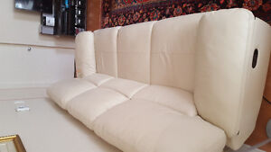 Lether Recliner Sofa