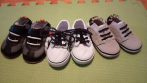 Baby Boy shoes. Size 5 (9-12M)