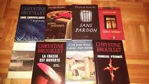 Lot de Chrystine Brouillet- 9 romans