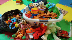 Kids toys.  Range in age from 12 months to 4 years old.
