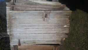 Various doors available and reclaimed barn products - Beams