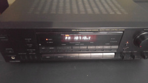 Sony and Pioneer receiver
