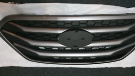 Front Upper Radiator Hood Grille For Hyundai Tucson ix35 2012-2016