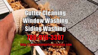 Plugged Eavestrough Cleaning - Gutters and Downspouts Cleaned