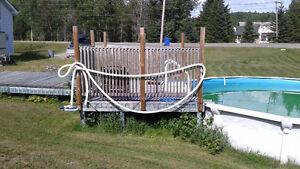 24' Above Ground pool + all accessories Gatineau Ottawa / Gatineau Area image 2