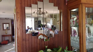 Large Beveled Mirror and 2 Small Mirrors Regina Regina Area image 3