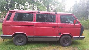 1991 Volkswagen Bus/Vanagon Minivan, Van