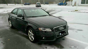 2009 Audi A4 Reduced Black on Black Sedan