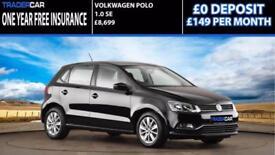 Volkswagen Polo 1.0 2015 SE - FREE INSURANCE