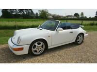 1991 Porsche 911 2 DOOR PRICE TO CLEAR Cabriolet Petrol Manual