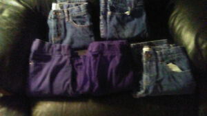 5 PAIRS OF BOYS JEANS