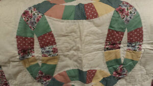 Twin Quilt and Sham  - NEW