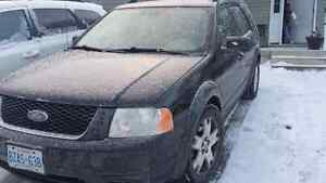 SOLD.....2007 Ford Freestyle Limited ALL LEATHER
