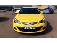 2016 Vauxhall Astra GTC 1.4T 16V 140 SRi 3dr Manual Petrol Coupe