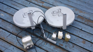 DISH NETWORK Satellite dishes and various LNB FREE TO AIR