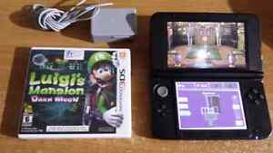 3ds xl with Luigis Mansion