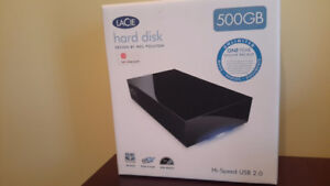 Disque dur externe NEUF / New Hard Disk 500GB