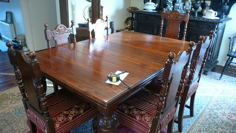 antique dining room set dining tables and sets city of toronto kijiji. Black Bedroom Furniture Sets. Home Design Ideas