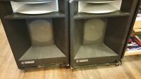 Yamaha A4115H 100W rms Powered Speakers