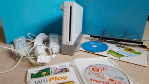 Wii, Wii console, Wii controller, accessories, games