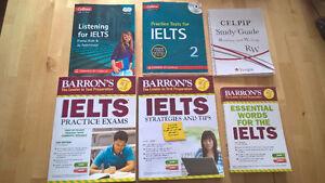 IELTS and CELPIP books