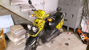 Yamaha with recently done motor