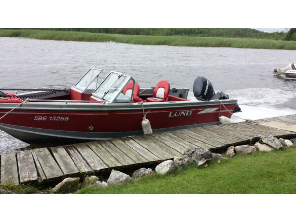 Used 1996 Lund Boat Co Adventure Fisherman 1750
