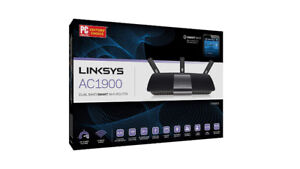 -*-new routeur Linksys AC1900 Dual Band Smart Wireless Router