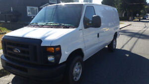 2014 Ford E-250 Cargo Van ONLY 39,864kms
