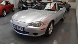MAZDA MX5 1.8cc - ONLY 77,000 MILES FROM NEW - MORE MX5'S IN STOCK