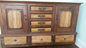 Cheap solid Teak Wood dresser!!