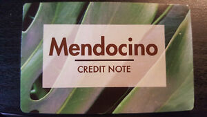 Mendocino Credit Note-with proof of amount