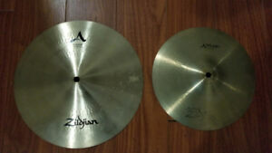 "Zildjian A 12"" splash and 10"" splash"