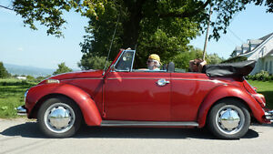 Super Beetle 1972 Convertible