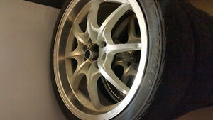 17' 4 lug rims (no tires) with bolts