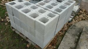 New Cinder Blocks and Deck Blocks